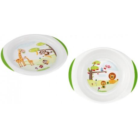 Productos chicco conjunto platos ni os for Set de platos