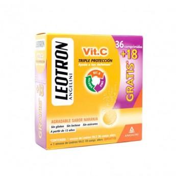 LEOTRON VIT.C 36 comprimidos +18 GRATIS