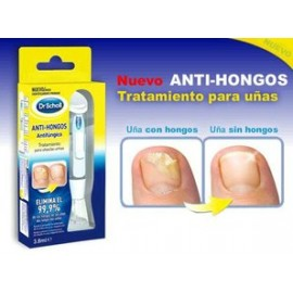 DR. SCHOLL ANTI-HONGOS+CINCO LIMAS