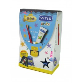 CEPILLO VITIS JUNIOR + GEL DENTAL