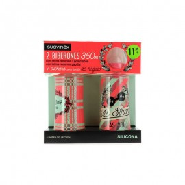 PACK BIBERONES SUAVINEX 360ML