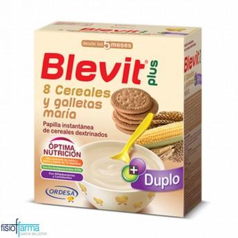BLEVIT 8 CEREALES Y GALLETA MARIA